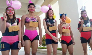 พิธีเปิด(ซิง)ทีมวอลเลย์บอลไทยในซีเกมส์อย่างเป็นทางการ