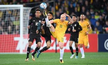 """สู้สุดใจ! """"ช้างศึก"""" บุกพ่าย """"ออสเตรเลีย"""" 1-2 ปิดฉากคัดเลือกบอลโลก (คลิป)"""