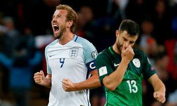 """ลิ่วรอบสุดท้าย! """"เคน"""" ซัดชัยทดเจ็บ """"อังกฤษ"""" เฉือน """"สโลวีเนีย"""" ซิวตั๋วลุยรัสเซีย (คลิป)"""