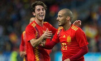 """สบายเท้า! """"สเปน"""" เปิดรังอุ่นเครื่องถล่ม """"คอสตาริก้า"""" 5-0"""