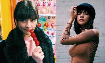 """น่ารักเหมือนเดิม! """"เวียนนา"""" สาวไทยสไตล์ญี่ปุ่นพิธีกรสาวเจลีก (อัลบั้ม)"""