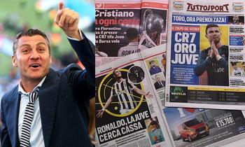 """รอไม่ไหวแล้ว! """"วิเอรี่"""" เชื่อ """"โรนัลโด้"""" จะเป็นผู้ชุบชีวิตวงการลูกหนังอิตาลี"""
