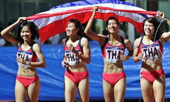 ทัพนักกรีฑาไทยซิวเพิ่ม3ทอง