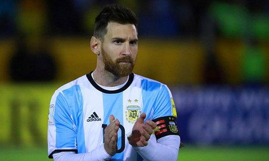 """โอกาสสุดท้าย! """"เมสซี่"""" เปรยเลิกเล่นทีมชาติหากล้มเหลวบอลโลกปีหน้า"""