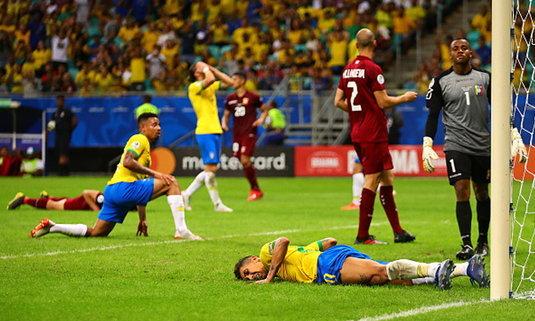 VAR พาช้ำ! บราซิลยิงเข้า 3 ตุงแต่ไม่ได้สักลูกทำเจ๊าเวเนซุเอลา 0-0