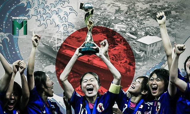 นาเดชิโกะ 2011 : แชมป์ฟุตบอลโลกที่ช่วยเยียวยาหัวใจจากสึนามิ