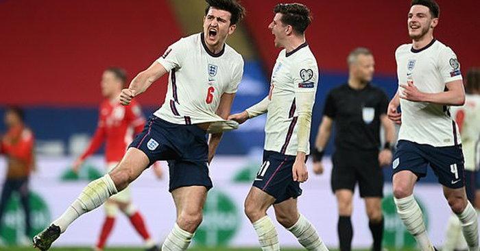 """""""แม็คไกวร์"""" ตะบันชัยสุดงาม! อังกฤษ เฉือน โปแลนด์ 2-1 นำโด่งจ่าฝูงกลุ่ม ไอ ..."""