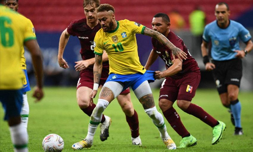 บราซิล ประเดิมสวย ไล่ต้อน เวเนซุเอลา 3-0 ศึกโคปา อเมริกา 2021