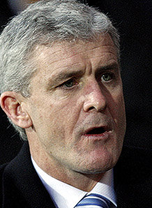 Mark Hughes Blackburn Rovers Manchester City Premier League