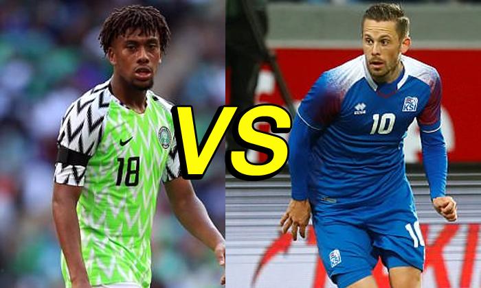 ไนจีเรีย vs ไอซ์แลนด์