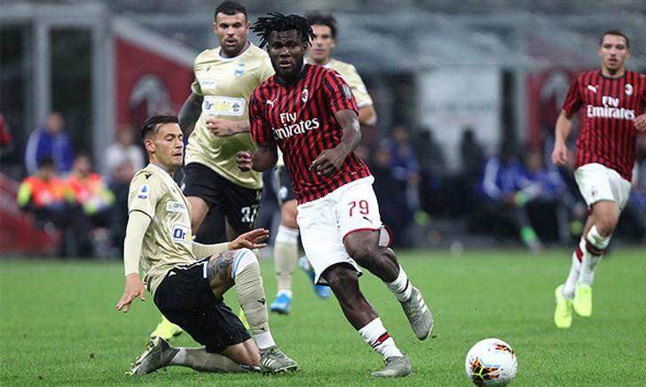 มิลาน ทุบ สปาล 3-0 ลิ่ว โคปปาอิตาเลีย