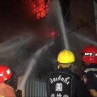 ไฟไหม้ร้านขายสีและอุปกรณ์ก่อสร้าง