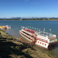 น้ำโขงกฤติแห้งขอด กระทบเรือท่องเที่ยว