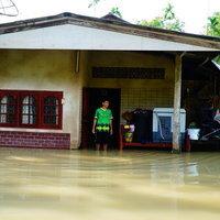 พัทลุงฝนตกหนัก น้ำหลากท่วม 3 หมู่บ้าน