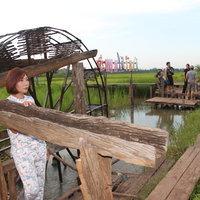 สะพานไม้ 100 ปี บ้านโคกกระชาย