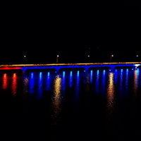 ประดับไฟบนสะพานเทพสุดา