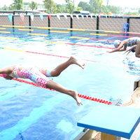 พิธีเปิดการแข่งขันว่ายน้ำสุดฮา