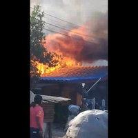ไฟไหม้บ้านวอด สูญเงินนับหมื่น