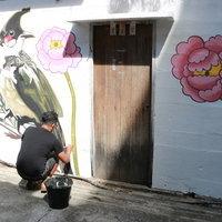 ลุ่มศิลปินกราฟฟิตี้ และสตรีทอาร์ต แต่งแต้มสีสันให้เมืองเบตง จ.ยะลา