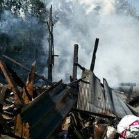ไฟไหม้บ้านคุณยายวัย 90 ปี หวิดโดนไฟคลอกเสียชีวิต