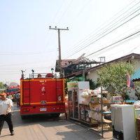 ไฟไหม้บ้านวอดทั้งหลัง เสียหายกว่า 2 ล้านบาท