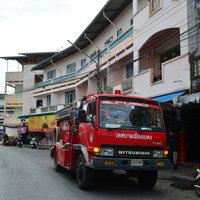 ไฟไหม้ห้างเบตงมินิมาร์ทกลางเมืองเบตง คาดไฟฟ้าลัดวงจรจากหลังตู้แช่ไร้เจ็บ