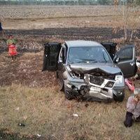 รถกระบะข้ามเลนชนกระบะกลับจากงานบุญ เจ็บ 6 ดับ 1 ราย
