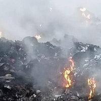 ยังดับไม่สนิท! ไฟไหม้บ่อขยะปราจีน หวั่นผลกระทบจากควันพิษ