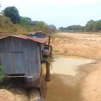 เหมือนทะเลทราย! แม่น้ำยมแห้งยังทำการเกษตรไม่ได้