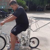 พระไทยสุดเจ๋ง ประดิษฐ์รถจักรยานด้วยพลังงานแสงอาทิตย์ใช้เอง