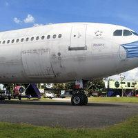 นักท่องเที่ยว แห่เช็คอินถ่ายรูปAirbus330 กลางทุ่งนาโคราช ก่อนเดินทางกลับไปทำงานหลังวันหยุดยาว