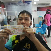สองหนุ่มเมืองระยองดวงเฮง ถูกรางวัลที่ 1 รับเงินรวม 18,000,000
