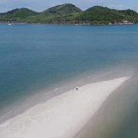 อะเมซิ่งแหลมหาดมัลดีฟเกาะยาว ทะสีฟ้า ทรายหาดสีขาว