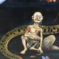 ไอเดียเลิศ! ภาพวาดเทวดา ตูน บอดี้สแลม โผล่กำแพงวัดดัง