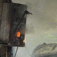 เพลิงไหม้รถนักเรียน ร.ร.เอกชนชื่อดังเมืองแปดริ้ว เสียหายหมดคัน