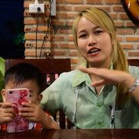 ย้อนอดีต! ร้านอาหารตกแต่งภาพวาด มานะ มานี ปิติ ชูใจ แบบเรียนภาษาไทย