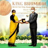 กระทรวงเกษตรฯ มอบรางวัล King Bhumibol World Soil Day Award ประจำปี 2563