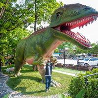 """กาแฟไดโนเสาร์ """"สวนไดโนเสาร์แอดแวนเจอร์"""" หอมกาแฟ ขนมอร่อย"""