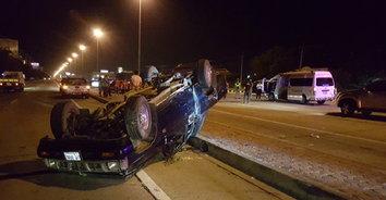 คนขับกระบะเมาจัด กลับรถตัดหน้ารถโรงพยาบาล ชนเจ็บระนาว