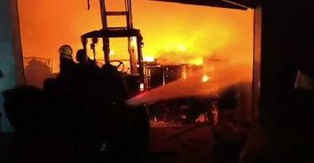 ไฟไหม้โรงงานผลิตสินค้าจากไม้ยางพารา เสียหายนับล้านบาท