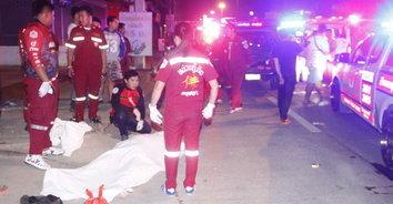 ชะตาขาด! หนุ่มเกาหลีเดินข้ามถนนถูกรถบัสชนเสียชีวิตคาที่