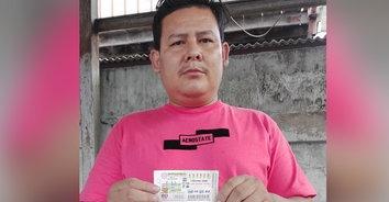 ถูกหวย! สองผัวเมียชาวยโสธร มาค้าขายในกรุงเทพดวงเฮงรับ 6 ล้าน