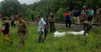 สะดุ้งทั้งขบวน หนุ่มจิตเวช กระโดดให้รถไฟชนเสียชีวิตคาที่