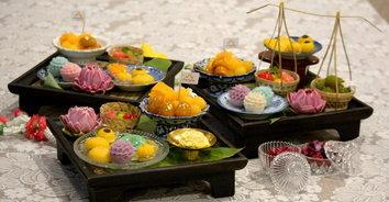 """พาชิมขนมไทยชาววัง กับบรรยากาศแบบไทยๆ ที่ """"บ้านภูมิจิต"""" ราชบุรี"""