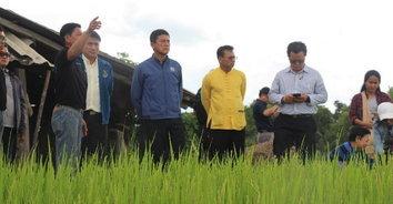 เกษตรกรแม่สรวยร้องกรมชลฯ ขออ่างเก็บน้ำแม่ตาช้างแก้ภัยแล้งและน้ำท่วม