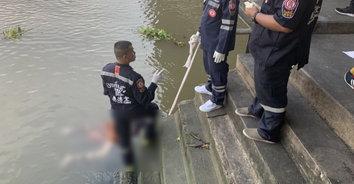 สยอง! พบศพชายวัย 35 ลอยอืดปริศนาริมแม่น้ำเจ้าพระยา