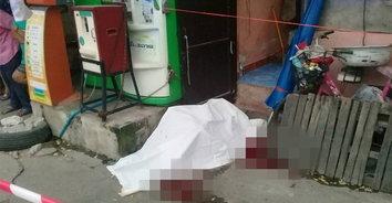 หนุ่มใหญ่โหดใช้ปืนลูกซองกราดยิง ถูกหนุ่มวินมอเตอร์ไซค์ดับคาที่ ส่วนอีกรายเจ็บสาหัส