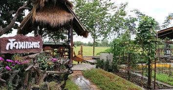 ร้านอาหารบ้านสวนน้ำ เพลิดเพลินกับบรรยากาศพร้อมสวนสัตว์ขนาดเล็ก