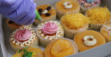เค้กโบราณงานโฮมเมด การันตีความเด็ด ออเดอร์ยาวไปถึงปีใหม่!
