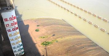 ชัยนาทแล้งสุดในรอบปี ชป.12 ออกประกาศแจ้งเตือนน้ำลดต่ำ-หวั่นตลิ่งพัง